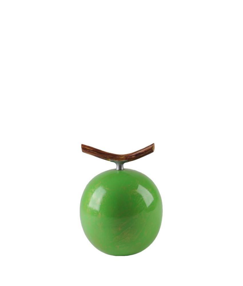 Fruitful urn appel klein - polyresin