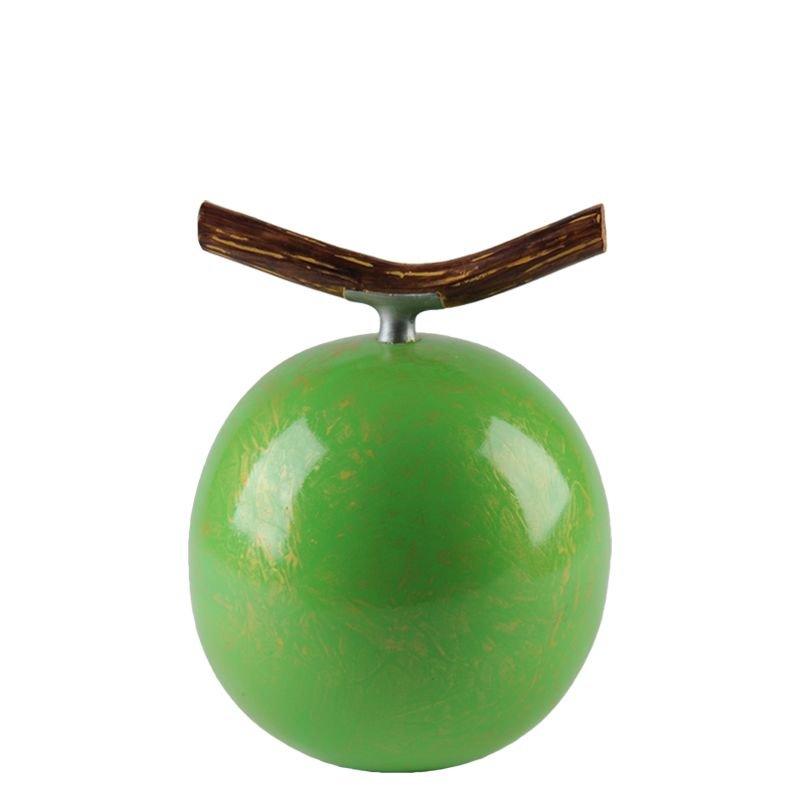 Fruitful urn appel medium - polyresin