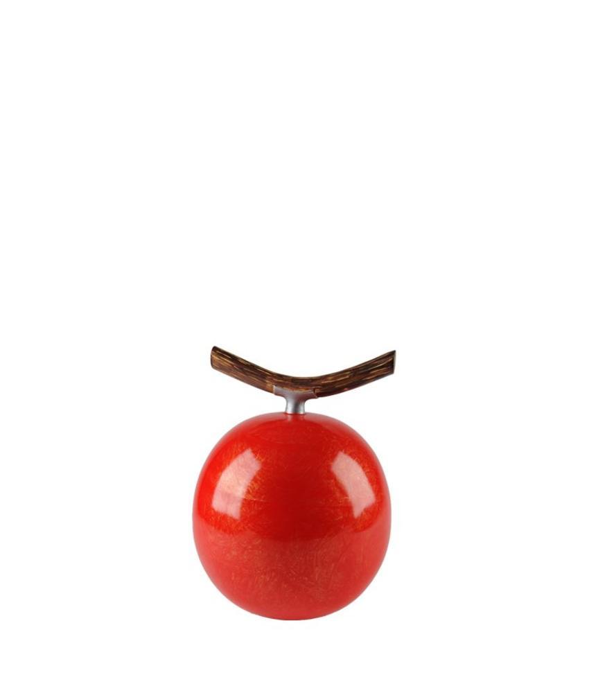 Fruitful kers klein urn - polyresin