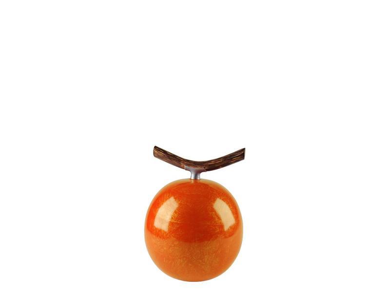 Fruitful urn pompoen klein - polyresin