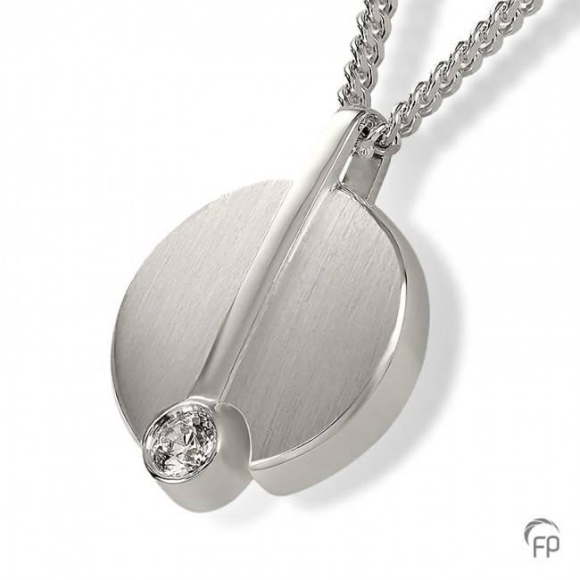 Ashanger symbool - 925 Sterling zilver met zirkonia