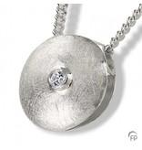 Ashanger oog - 925 Sterling zilver met zirkonia