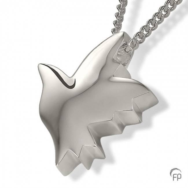 Ashanger duif - 925 Sterling Zilver