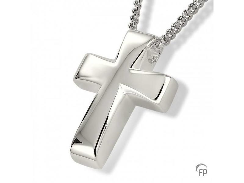 Ashanger kruis - 925 Sterling Zilver