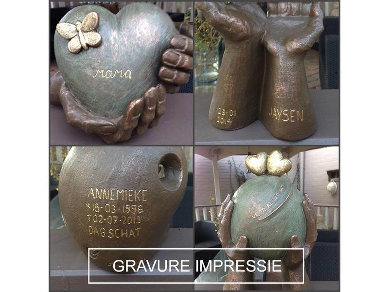 Phoenix urn - keramiek