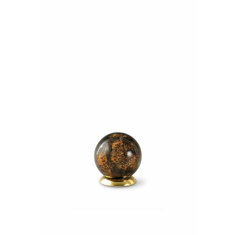 Kinder urn bruine bol - glas