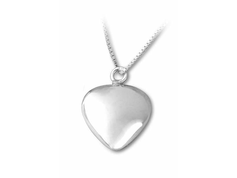 Ashanger hart - sterling zilver