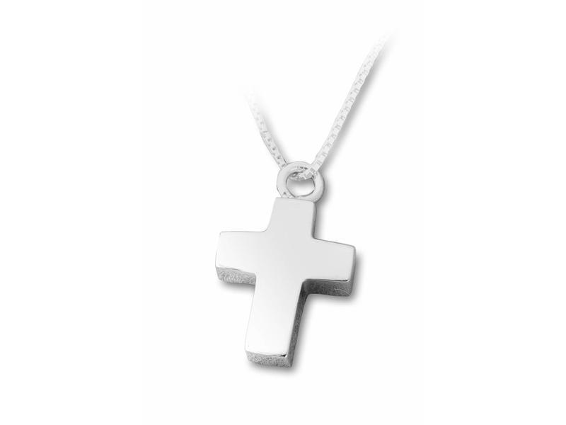 Ashanger kruis - sterling zilver