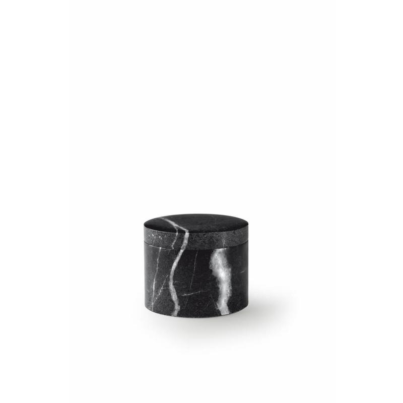 Mini urn black box - marmer