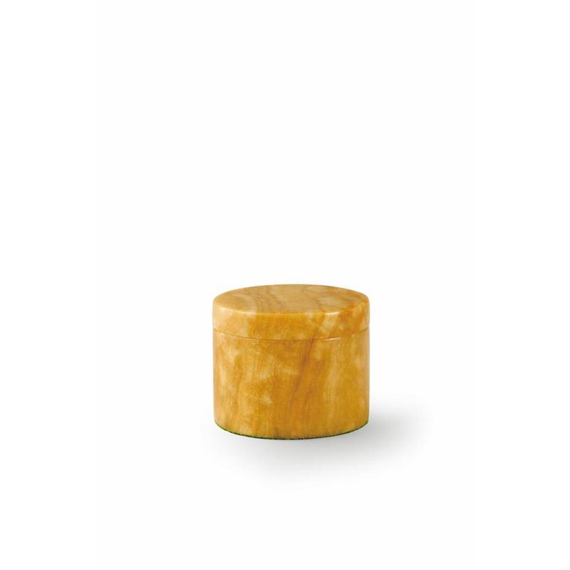 Mini urn honing box - marmer