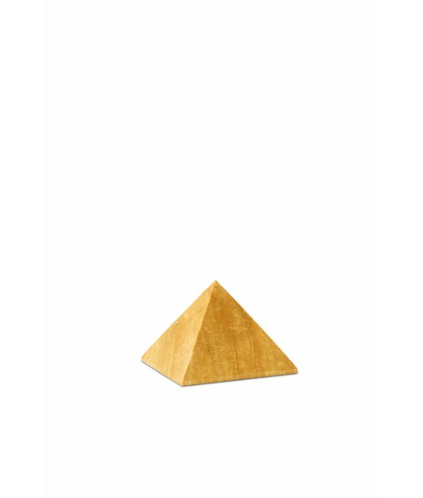 Mini urn honing pyramide - marmer