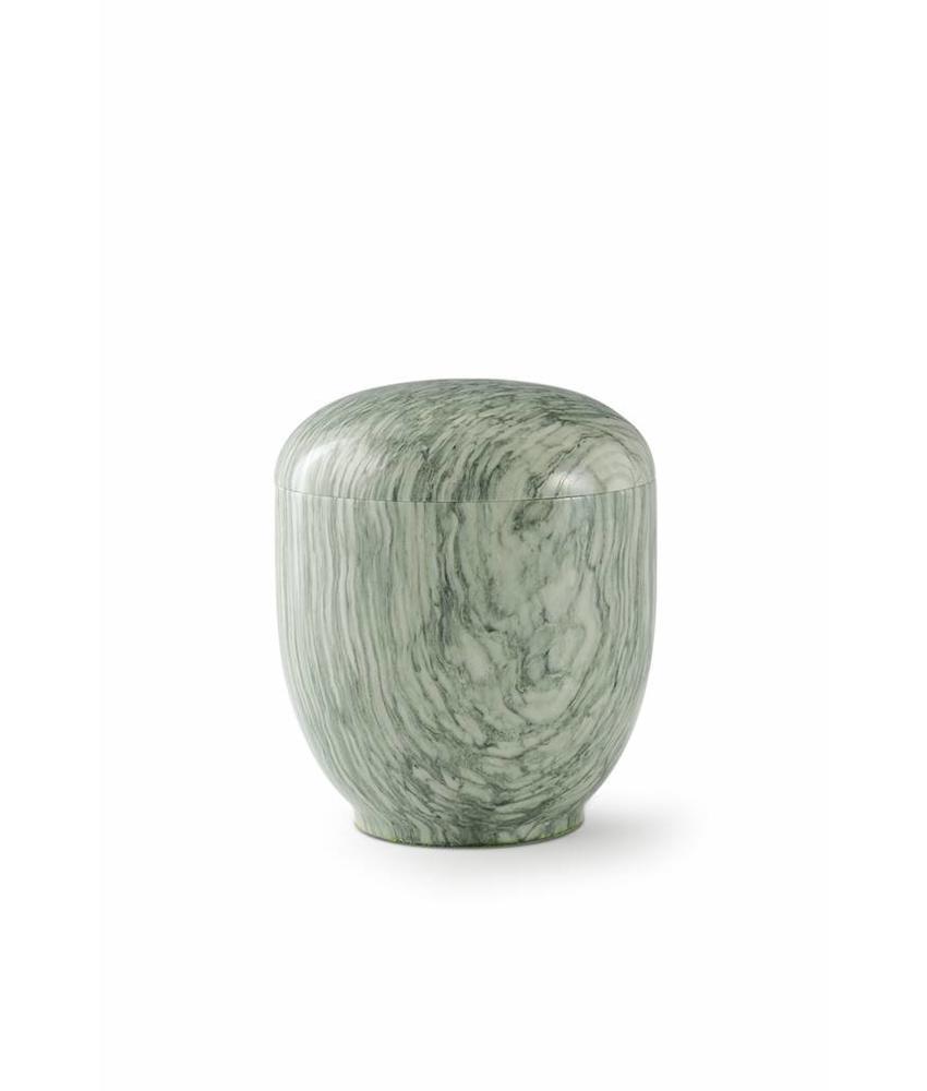 Medium urn jade - marmer