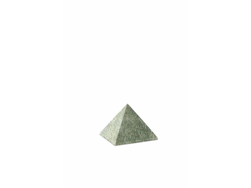 Mini urn jade pyramide - marmer