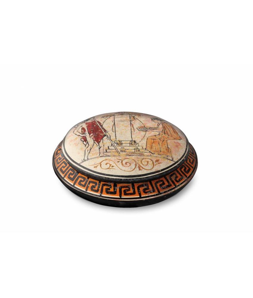 Kleine urn attika - keramiek