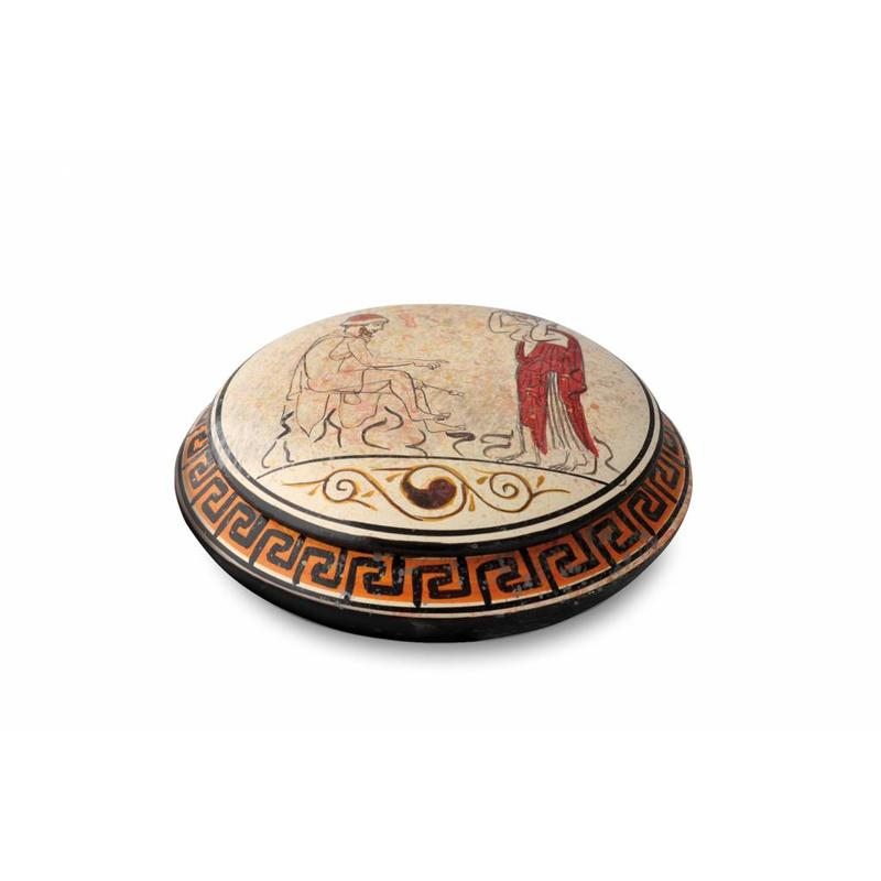 Kleine urn athene - keramiek