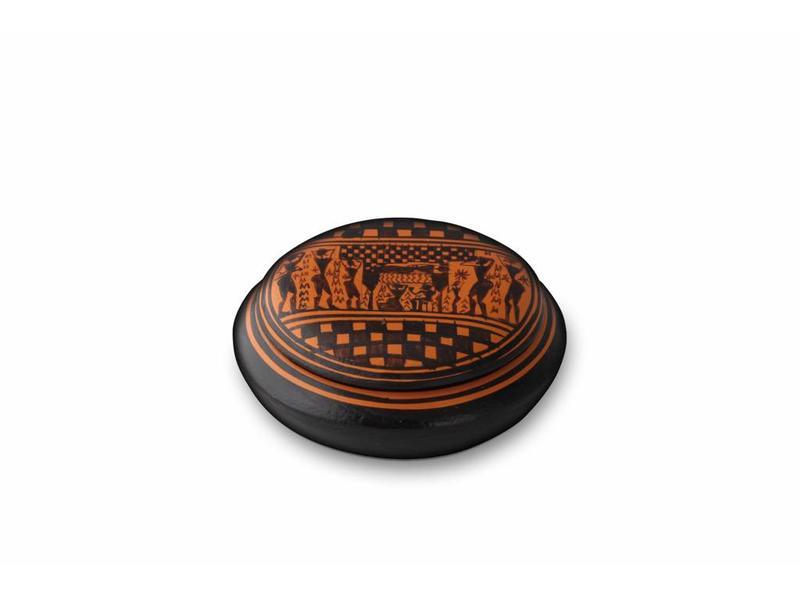 Mini urn posseidon - keramiek