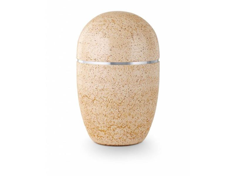 Asbus stone beige - staal