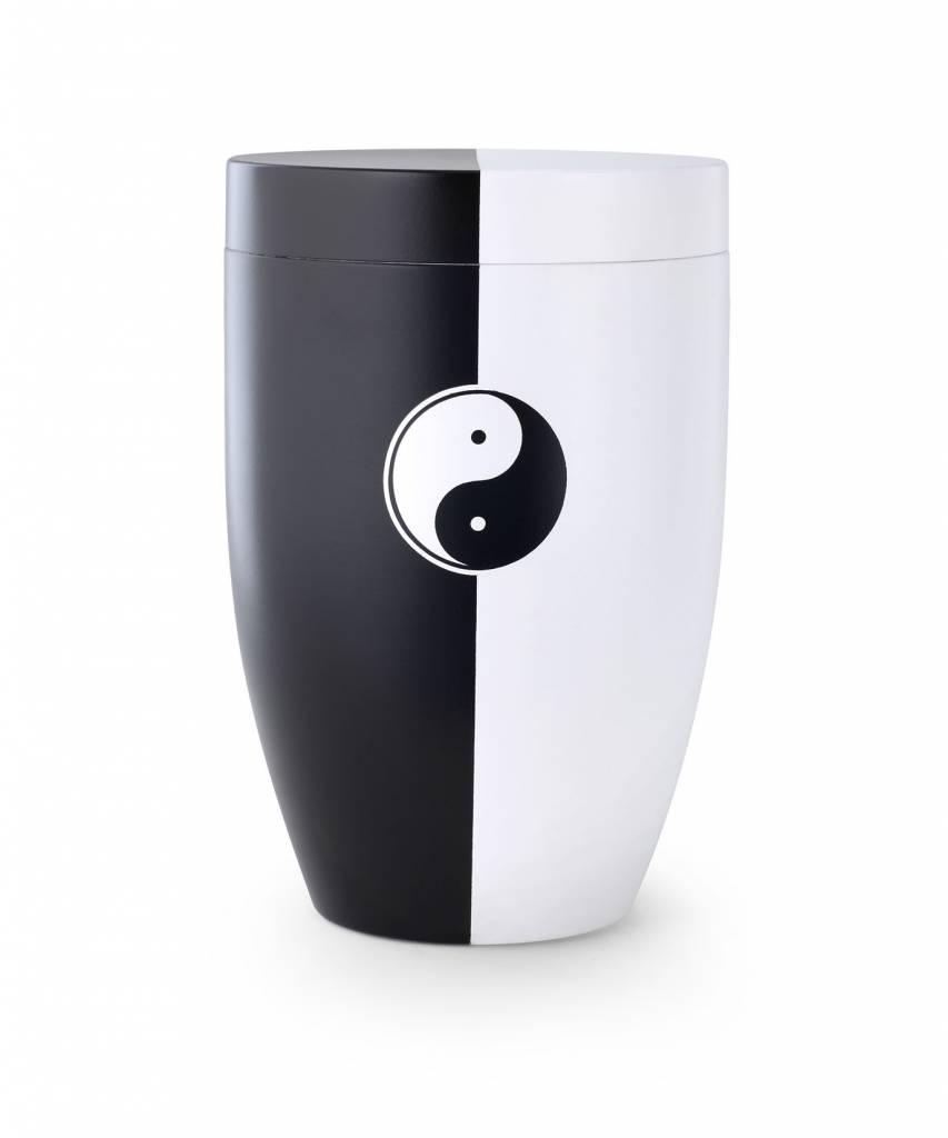 Yin-Yang urn - staal