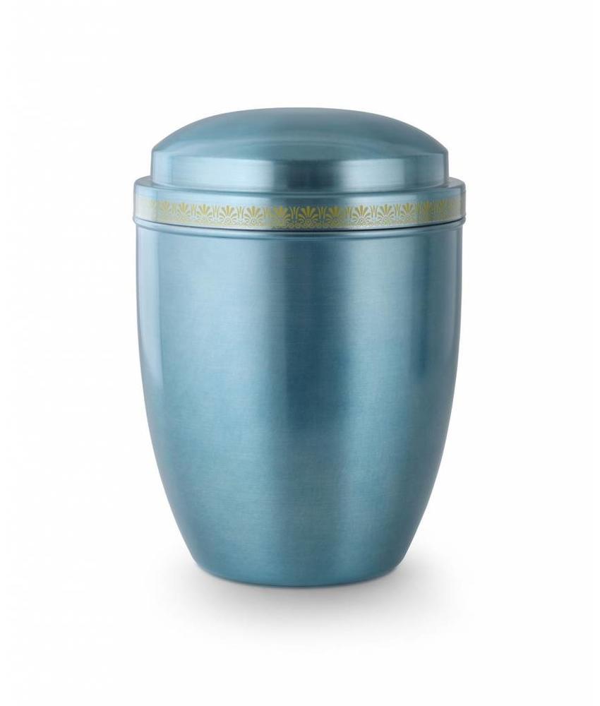 Asbus pastelblauw - staal