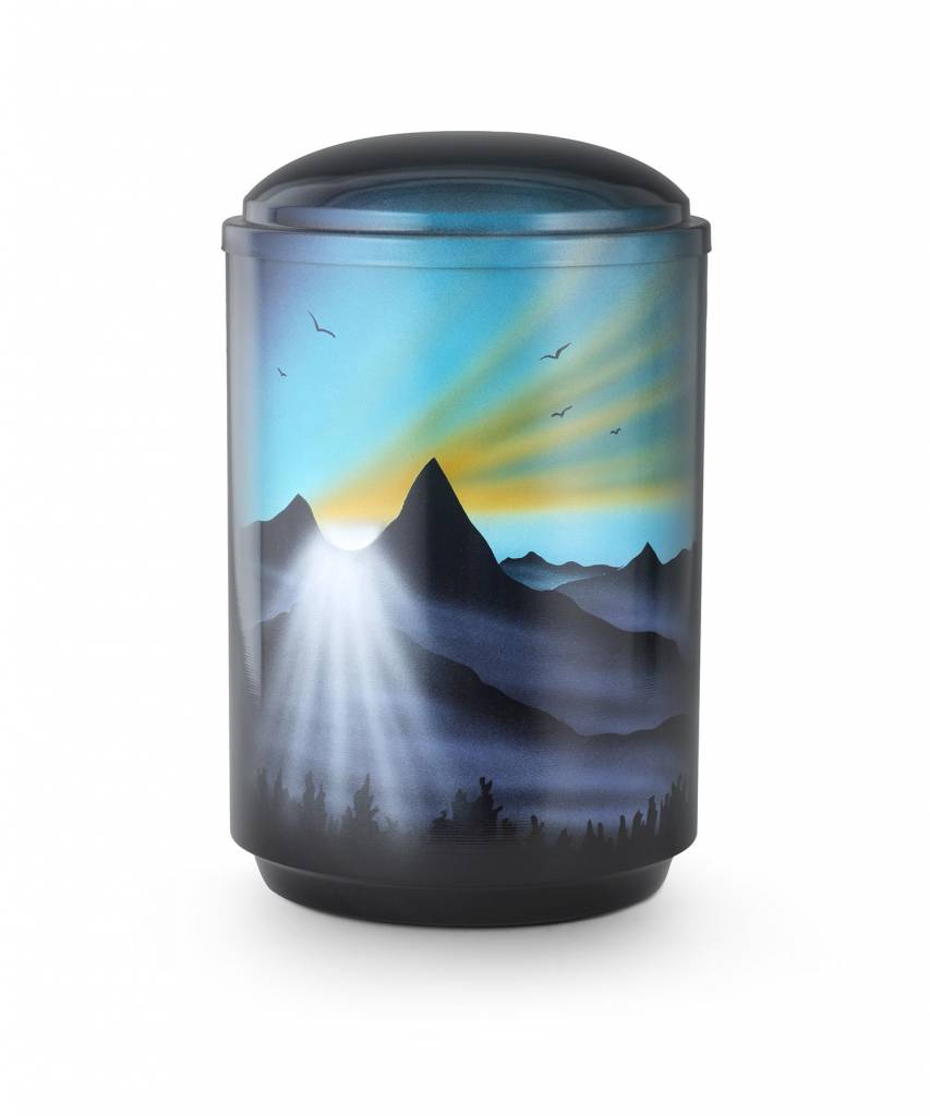 Nirwana urn - staal