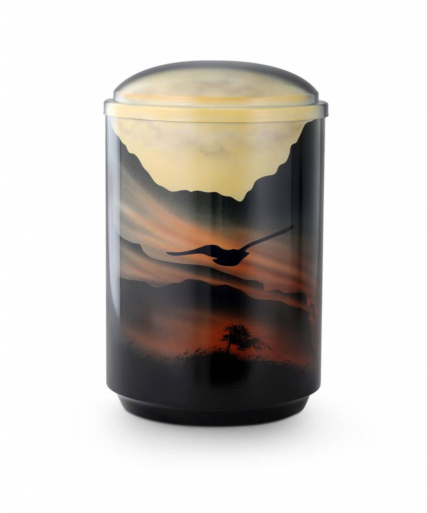 Patmos urn - staal