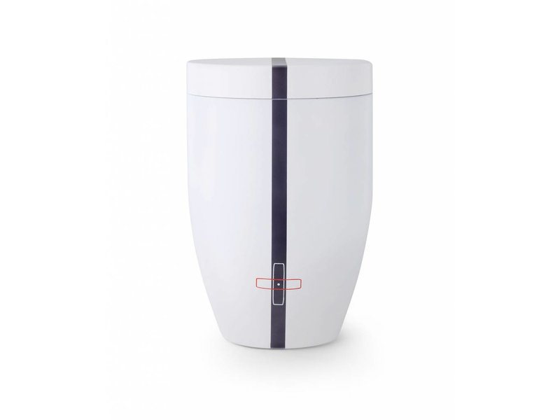 Wimmer urn stripe - staal
