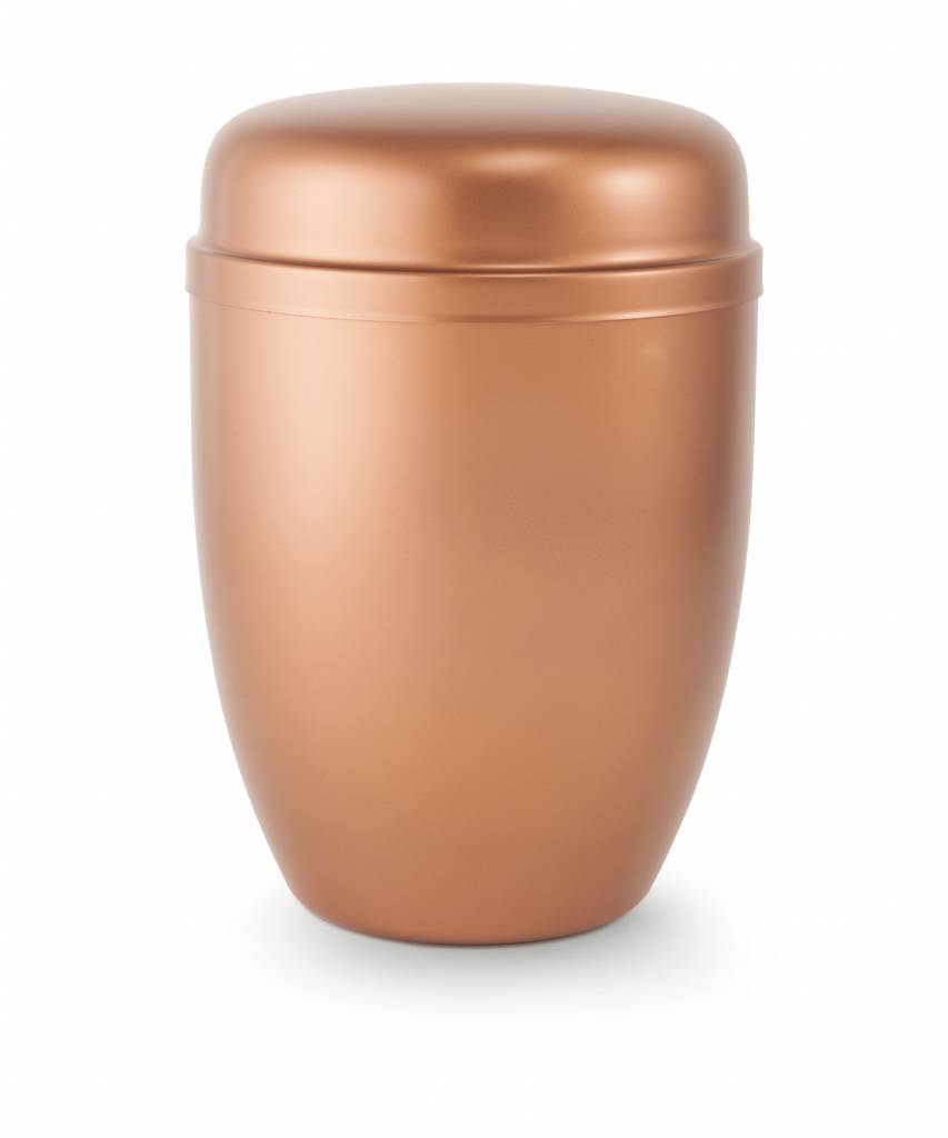 Bokaal urn koper - staal