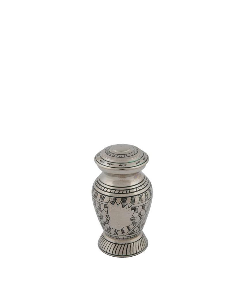 Eagle urn mini - messing