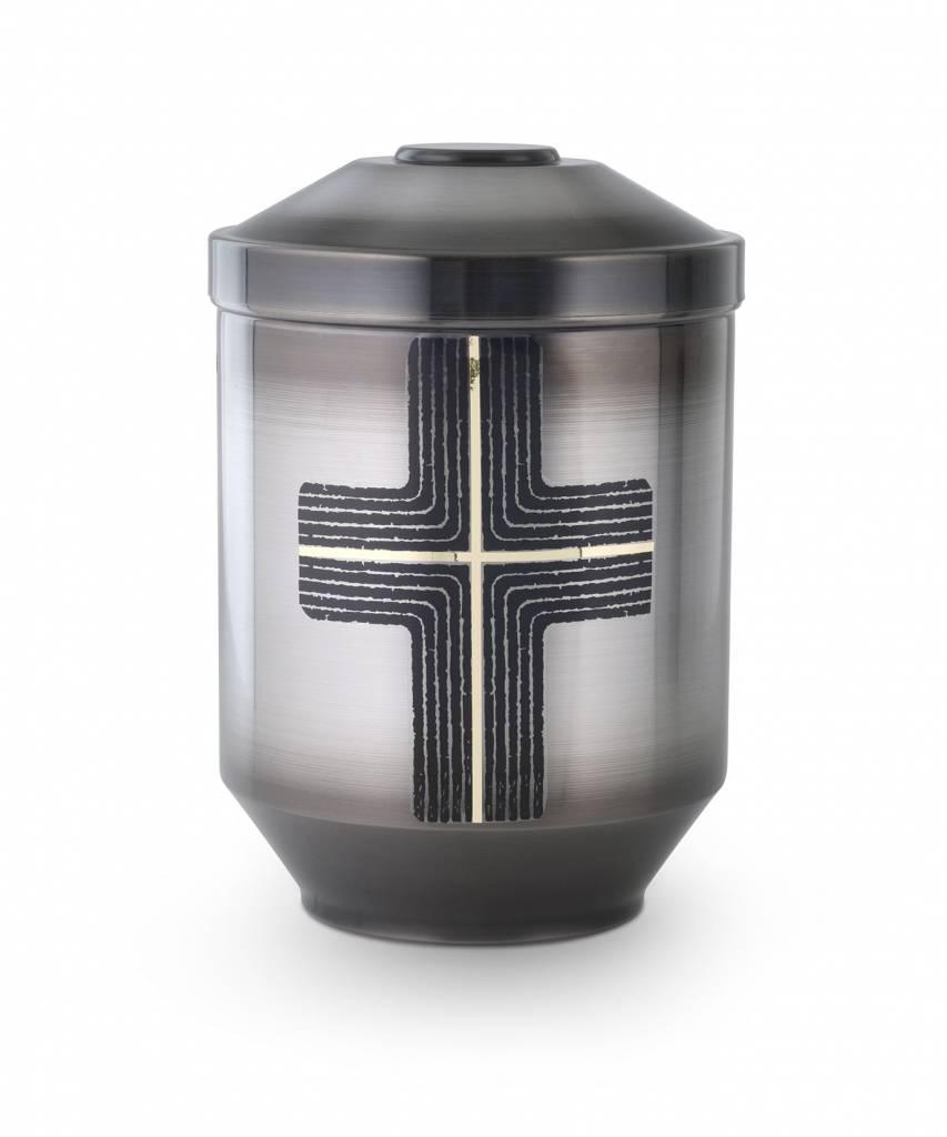 Moderne asbus kruis - staal