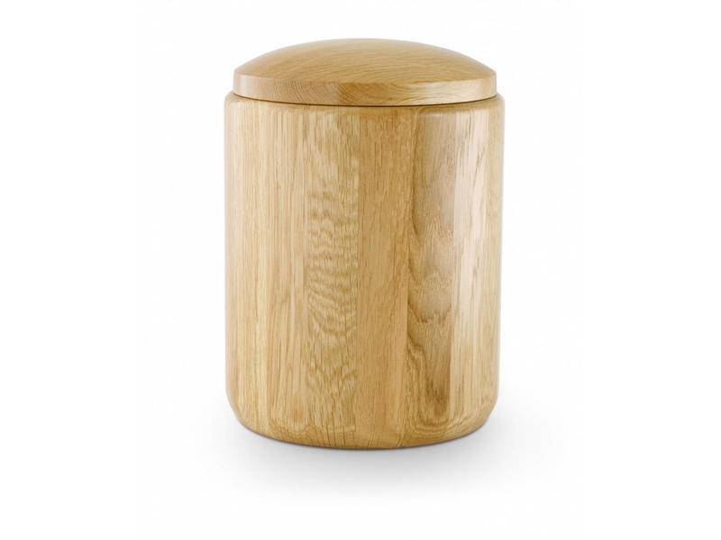Eikenhout urn naturel - hout