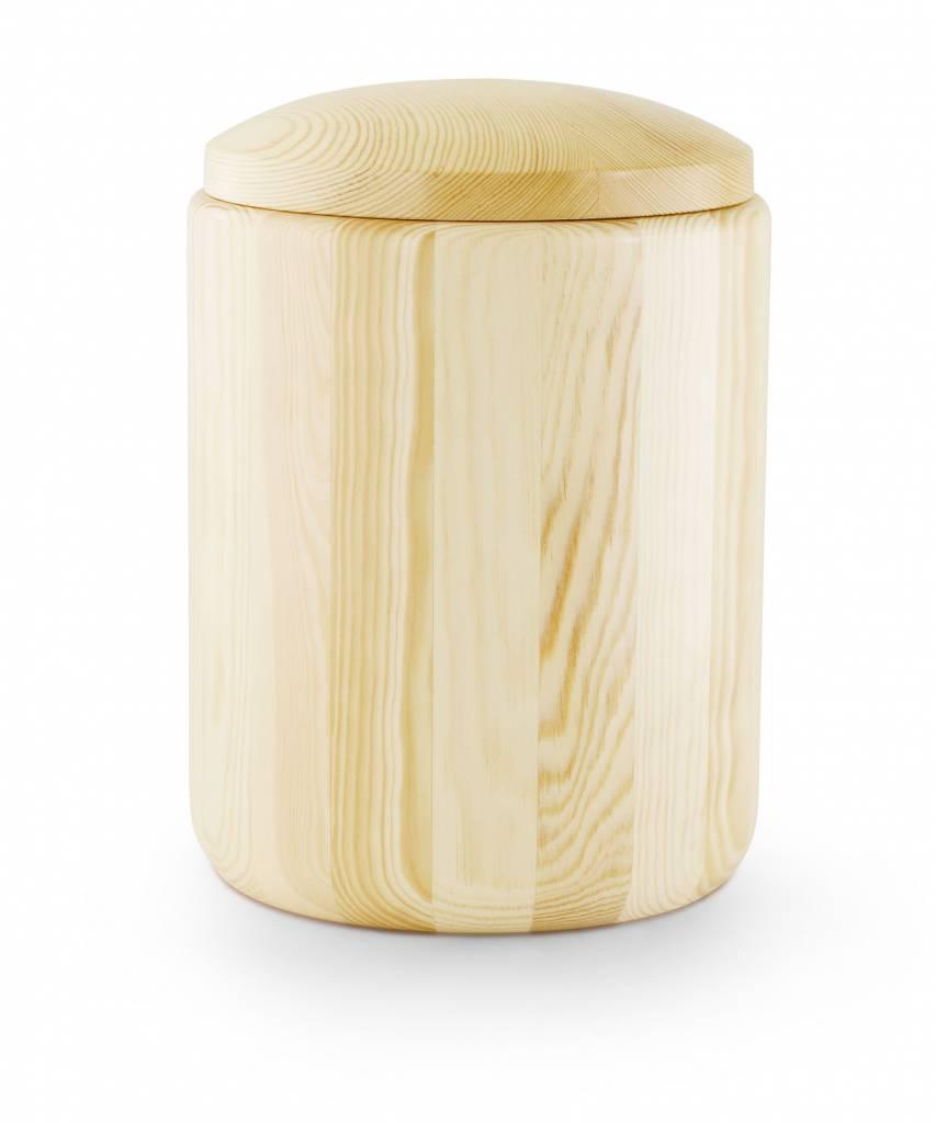 Naaldhout urn naturel - hout
