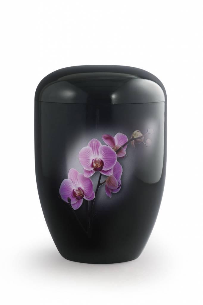 Eco urn zwart orchidee - bio