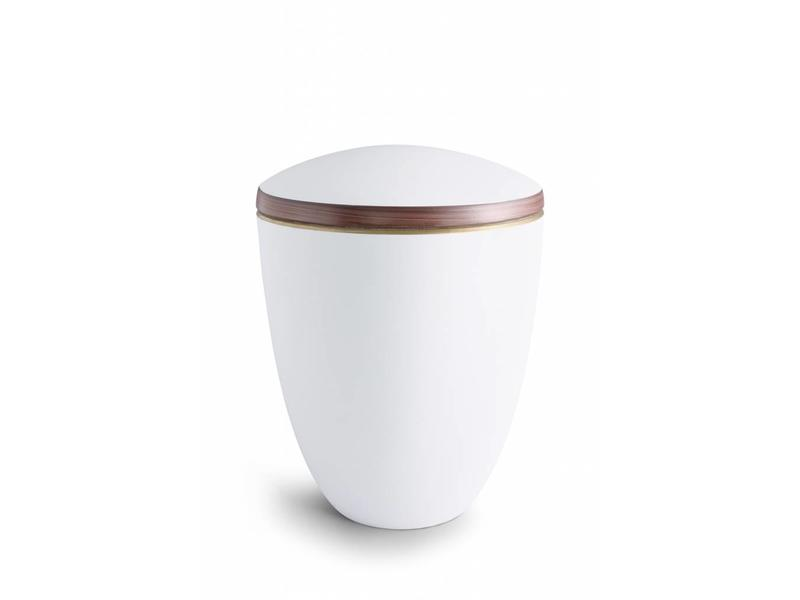 Tosca wit urn - Keramiek