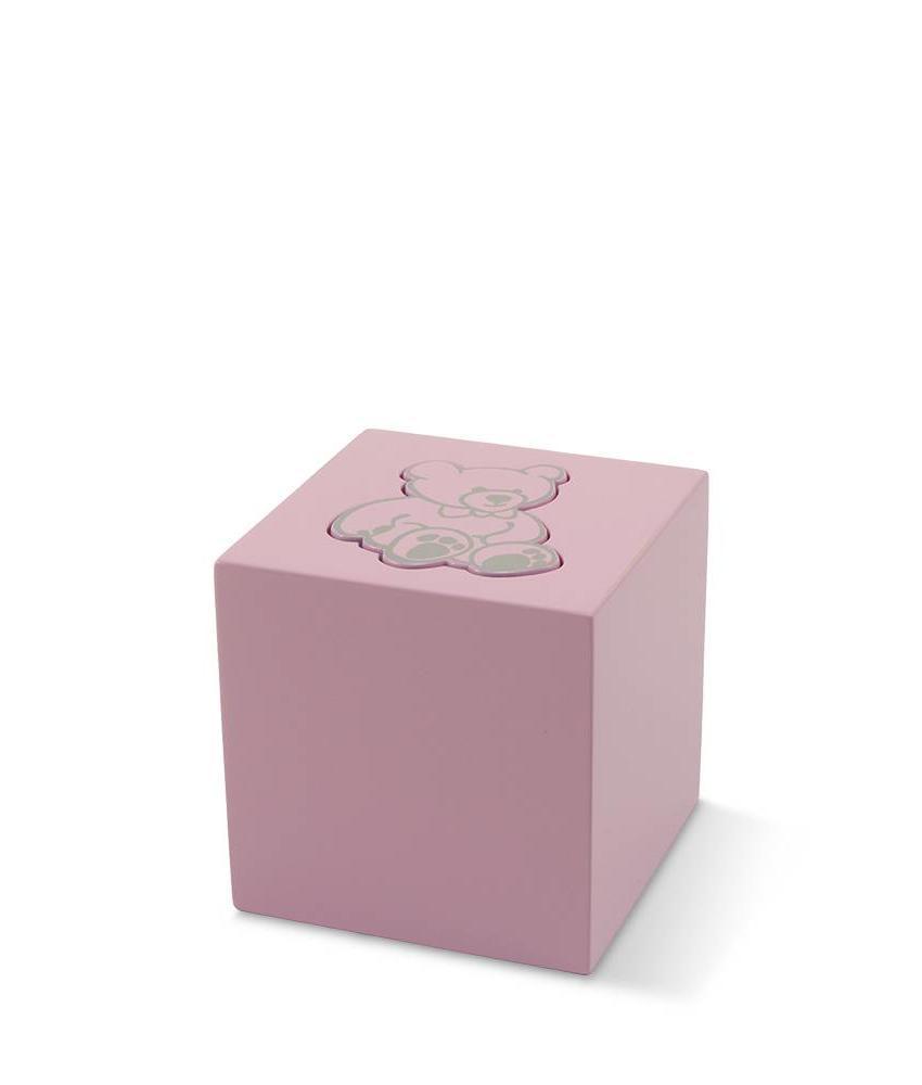 Kinder urn rose beer - aluminium