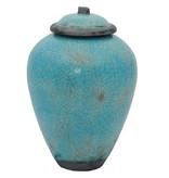 Azuli urn - keramiek