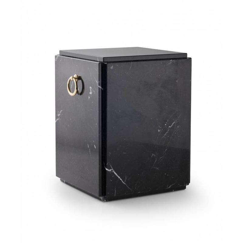 Sarcofaag urn zwart - marmer