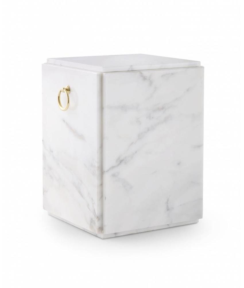 Sarcofaag urn wit - marmer