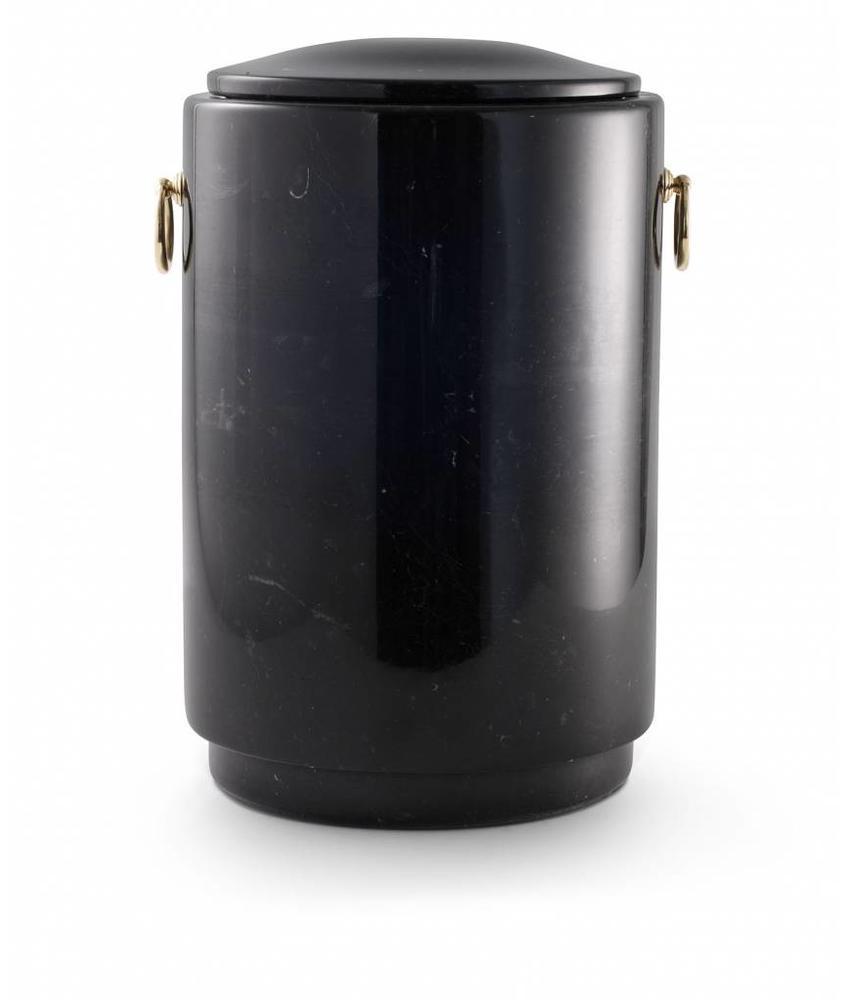 Asbus zwart - marmer