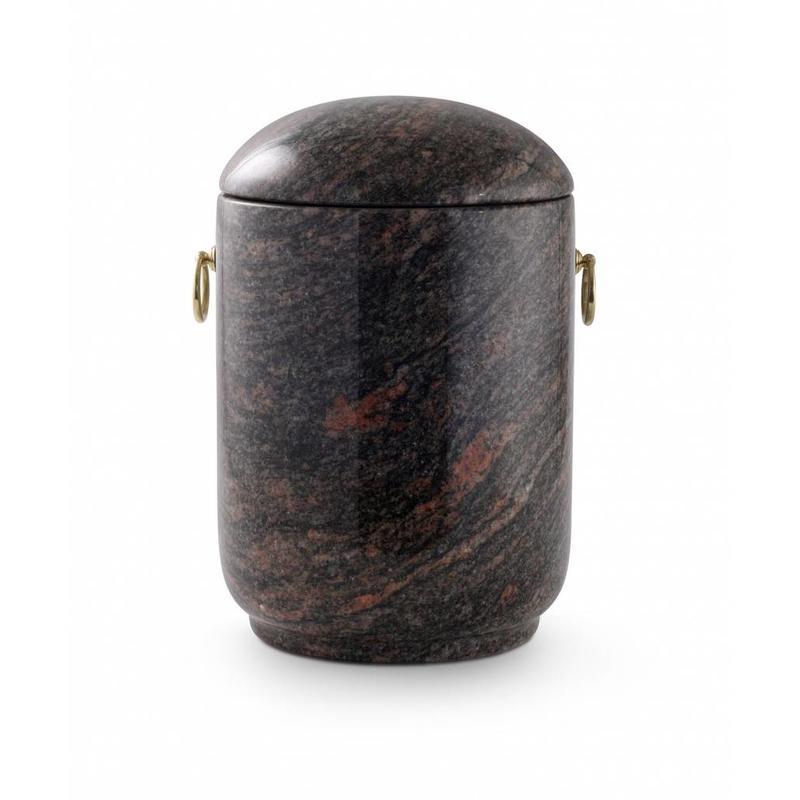 Asbus aroba rood en zwart - graniet