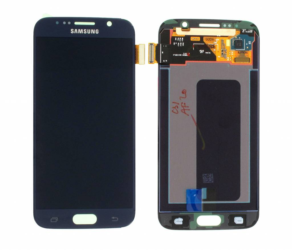 Samsung LCD Display Module G920F Galaxy S6, Black, GH97-17260A