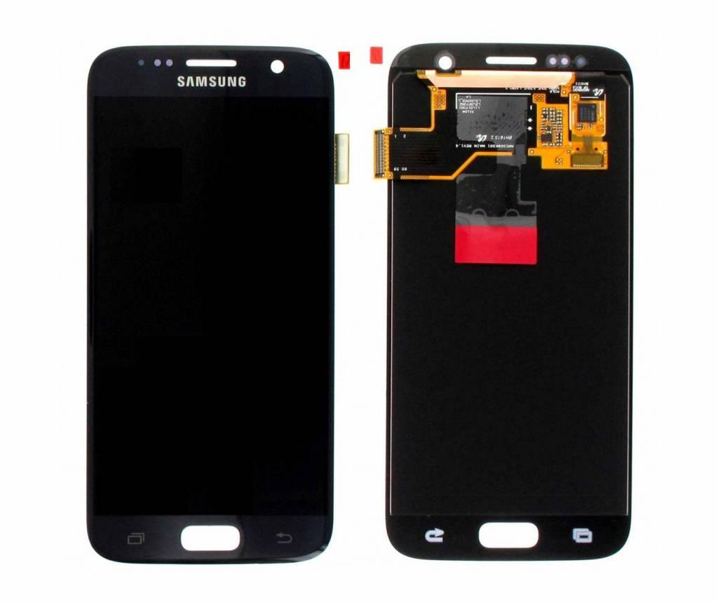 Samsung Lcd Display Module G930F Galaxy S7, Zwart, GH97-18523A;GH97-18761A