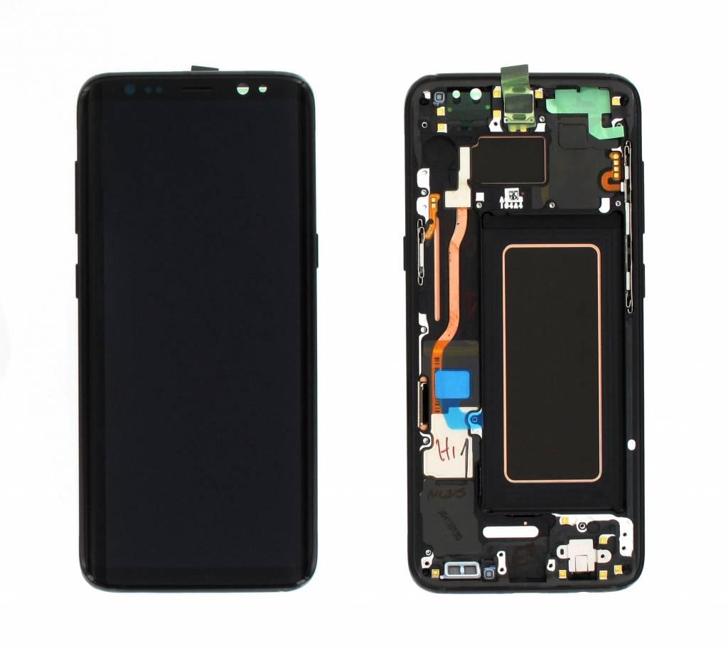 Samsung Bildschirm LCD Display Modul G950F Galaxy S8, Midnight Black, GH97-20457A;GH97-20473A