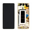 Samsung N950F Galaxy Note 8 LCD Display Modul + Touch Bildschirm + Rahmen, Gold, GH97-21065D