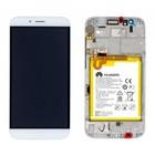 Huawei LCD Display Modul G8 (RIO-L01), Champagner/Weiß, 02350KJG