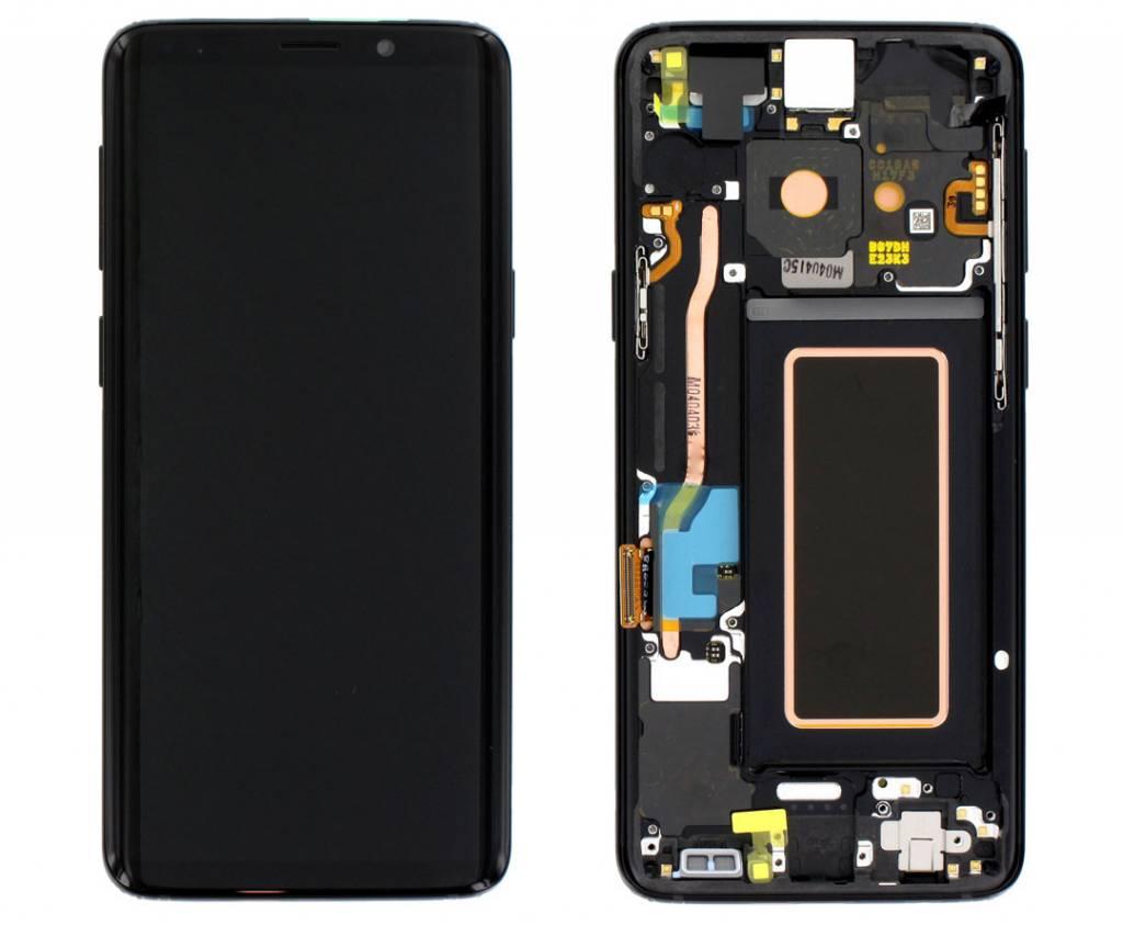 Samsung G960F Galaxy S9 LCD Display Module, Midnight Black, GH97-21696A