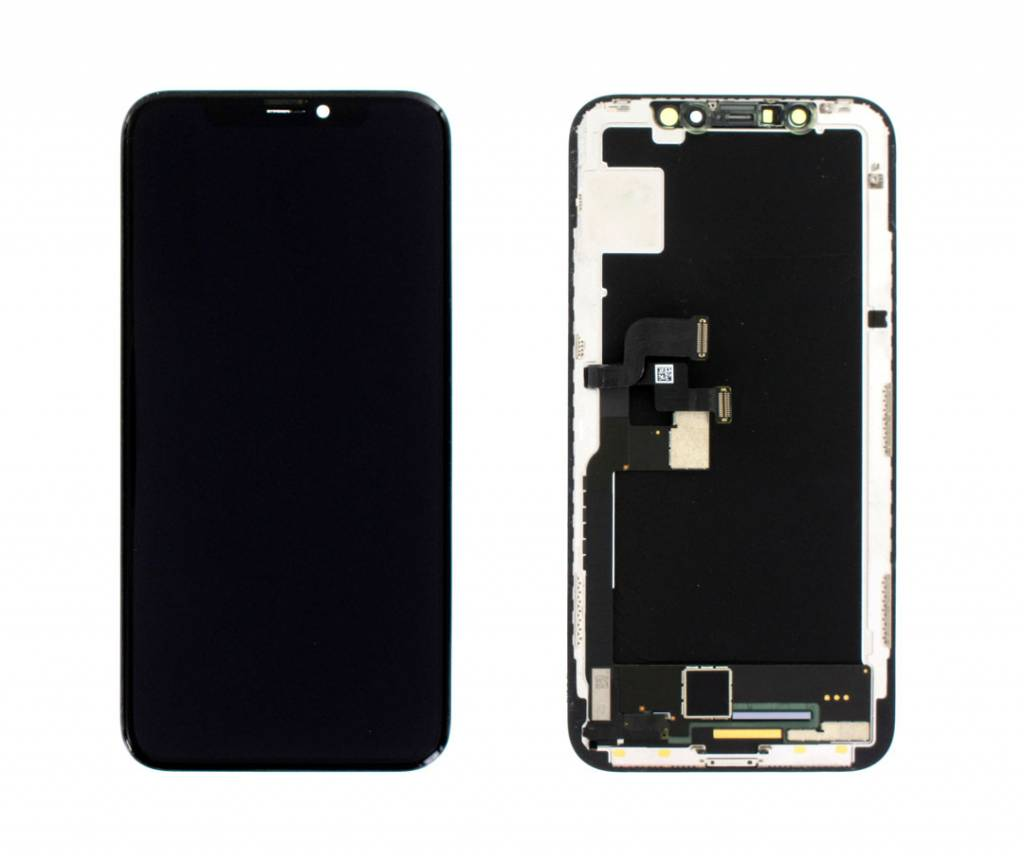 LCD Display Modul, REFURBISHED, Schwarz, Kompatibel Mit Dem Apple iPhone X