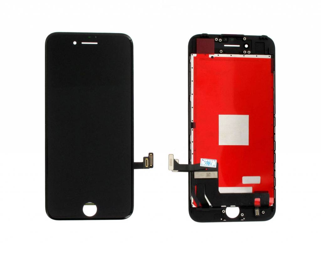 LCD Display Module, REFURBISHED, Black, Compatible With The Apple iPhone 7