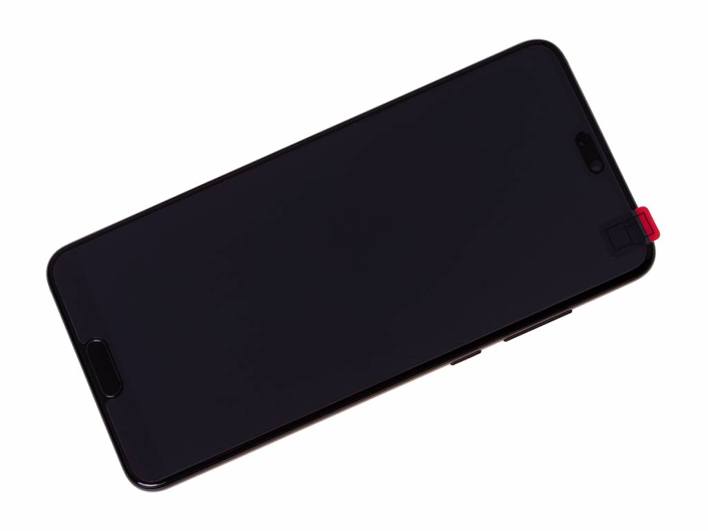 Huawei P20 Pro Dual Sim (CLT-L29) LCD Display Module, Black, Incl. Battery HB436486ECW, 02351WQK