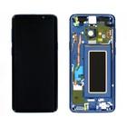 Samsung G960F Galaxy S9 LCD Display Modul, Coral Blue/Blau, GH97-21696D