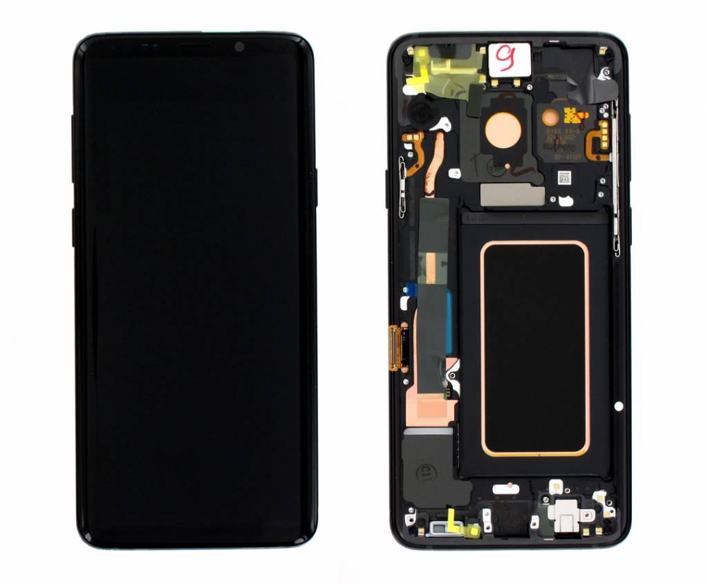 Samsung G965F Galaxy S9+ LCD Display Module, Midnight Black, GH97-21691A